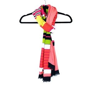 Lane Bryant | Multicolor Striped Raw Hem Scarf OS